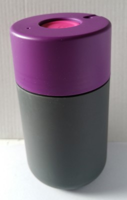 Drinking: from this no-spill Frank Green SmartCup. It has one hand operation so it's perfect for walking, cycling and running for the morning train!